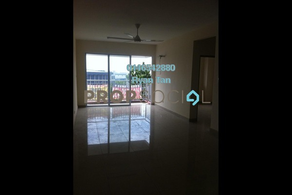 For Rent Condominium at K Boulevard, Puchong Freehold Semi Furnished 3R/2B 1.2k