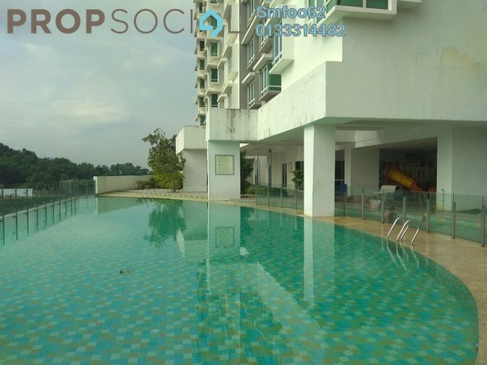 For Rent Condominium at Saville, Melawati Freehold Semi Furnished 3R/2B 1.7k