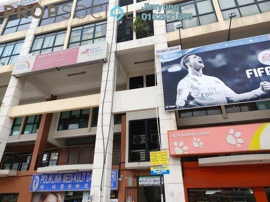 For Rent Shop at Taman Usahawan, Kepong Freehold Semi Furnished 0R/1B 2k