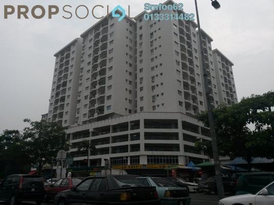 For Sale Condominium at Prima Setapak I, Setapak Freehold Semi Furnished 4R/3B 628k