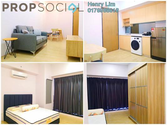 For Rent SoHo/Studio at REV.O @ Bukit Jalil City, Bukit Jalil Freehold Fully Furnished 0R/1B 1.5k