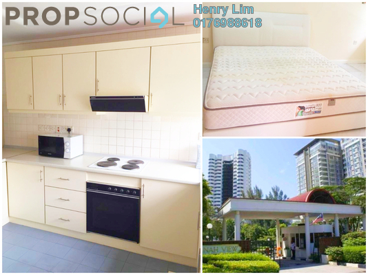 For Rent Condominium at Jamnah View, Damansara Heights Freehold Fully Furnished 1R/1B 2.3k
