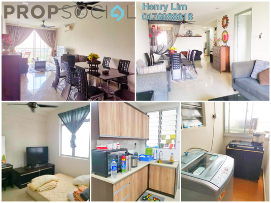 For Rent Condominium at Suasana Lumayan, Bandar Sri Permaisuri Freehold Fully Furnished 1R/1B 650translationmissing:en.pricing.unit