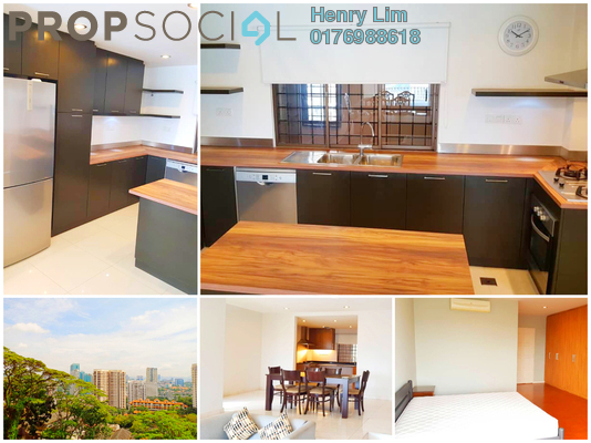 For Rent Condominium at Merak Kayangan, Bangsar Freehold Semi Furnished 3R/2B 5k