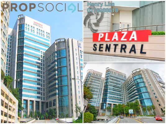 For Rent Office at Plaza Sentral, KL Sentral Freehold Unfurnished 0R/0B 11.4k