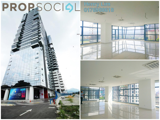 For Rent Office at 3 Towers, Ampang Hilir Freehold Unfurnished 0R/0B 3.8k