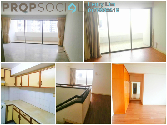 For Rent Duplex at GCB Court, Ampang Hilir Freehold Semi Furnished 4R/4B 3.8k