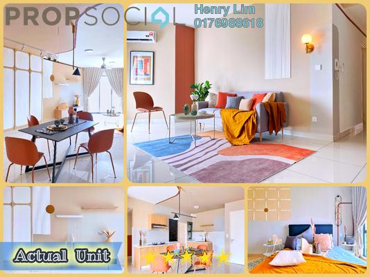 For Rent Condominium at Trinity Aquata, Sungai Besi Freehold Fully Furnished 3R/2B 2.5k