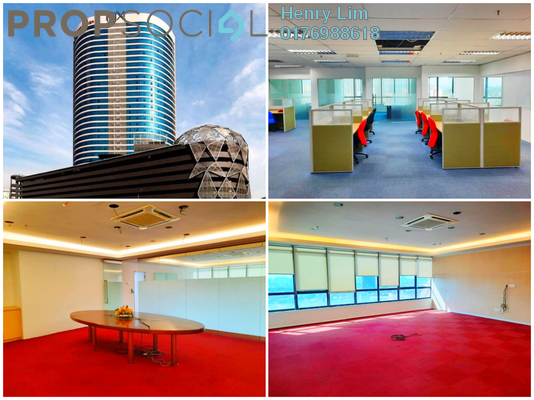 For Rent Office at PJX, PJ State Freehold Semi Furnished 0R/0B 30k
