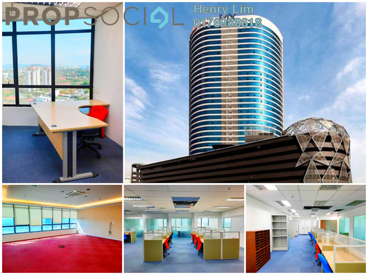 For Sale Office at PJX, PJ State Freehold Semi Furnished 0R/0B 4.28m