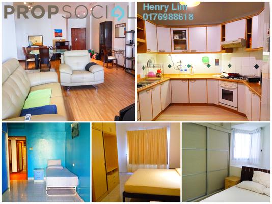 For Rent Condominium at Lanai Kiara, Mont Kiara Freehold Fully Furnished 3R/2B 2.4k