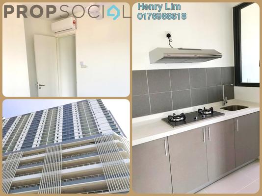 For Rent Serviced Residence at Danau Kota Suite Apartments, Setapak Freehold Semi Furnished 3R/2B 1.6k