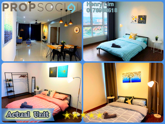 For Rent Serviced Residence at The Loft @ ZetaPark, Setapak Freehold Fully Furnished 3R/2B 2.2k