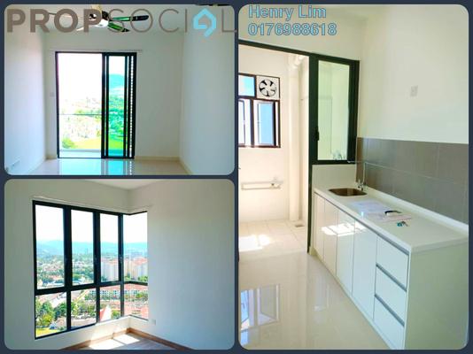 For Rent Serviced Residence at Danau Kota Suite Apartments, Setapak Freehold Semi Furnished 3R/2B 1.5k