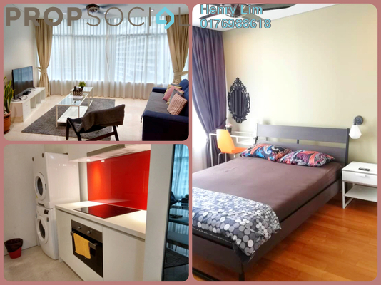 For Rent Serviced Residence at Vortex Suites & Residences, KLCC Freehold Fully Furnished 2R/2B 2.4k