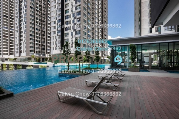 Serviced Residence For Sale in D'Sara Sentral, Sungai Buloh Leasehold Unfurnished 3R/2B 403k