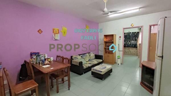 For Sale Apartment at Pandan Cahaya, Pandan Indah Freehold Semi Furnished 3R/1B 209k