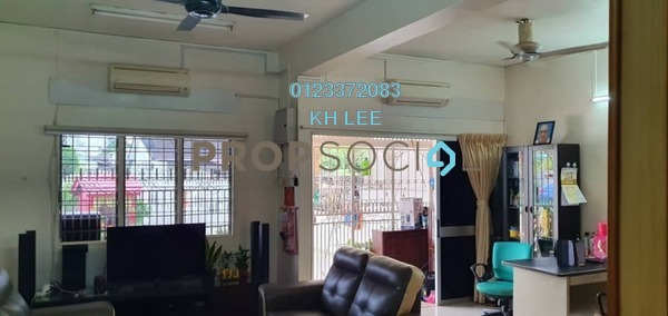 For Sale Terrace at Taman Chi Liung, Klang Freehold Semi Furnished 4R/3B 620k