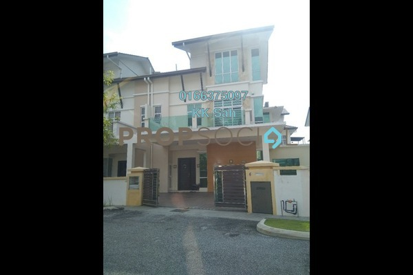 For Sale Semi-Detached at Casa Residence, Bandar Mahkota Cheras Freehold Semi Furnished 6R/5B 1.3m
