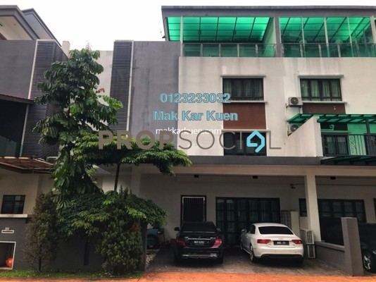 For Sale Townhouse at Duta Suria, Ampang Freehold Unfurnished 5R/6B 1.17m