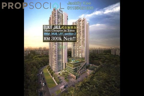 For Rent Condominium at Lanai Residences, Bukit Jalil Freehold Unfurnished 3R/2B 800translationmissing:en.pricing.unit