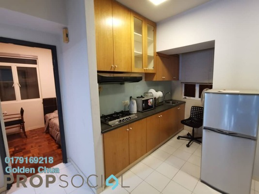 Condominium For Rent in 38 Bidara, Bukit Ceylon Freehold Fully Furnished 2R/2B 1.5k