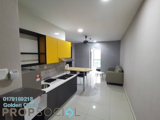 SoHo/Studio For Rent in Liberty Arc @ Ampang Ukay, Ukay Freehold fully_furnished 1R/1B 1k