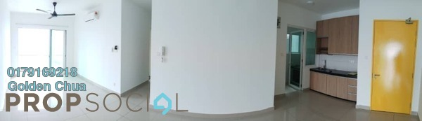 For Rent Condominium at Mercury Serviced Apartment @ Sentul Village, Sentul Freehold Unfurnished 3R/2B 1.2k