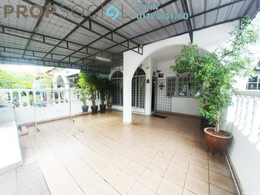 For Sale Terrace at Taman Puchong Intan, Puchong Freehold Semi Furnished 3R/2B 450k