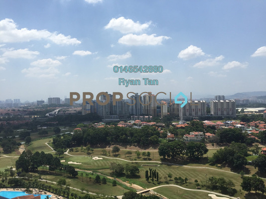For Rent Condominium at Twin Arkz, Bukit Jalil Freehold Fully Furnished 3R/2B 2.3k