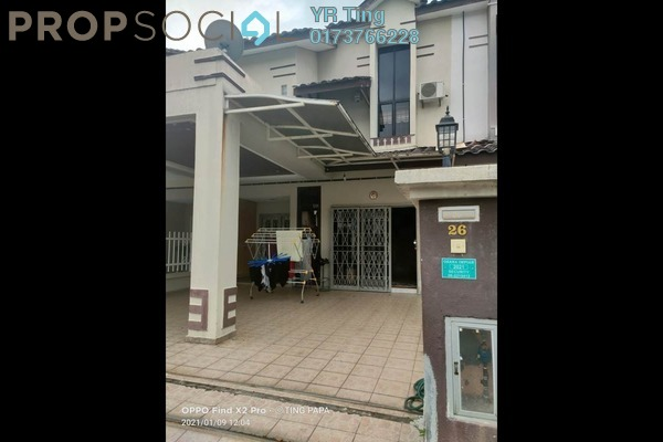Terrace For Sale in Taman Ozana Residence, Melaka Freehold Fully Furnished 3R/2B 360k