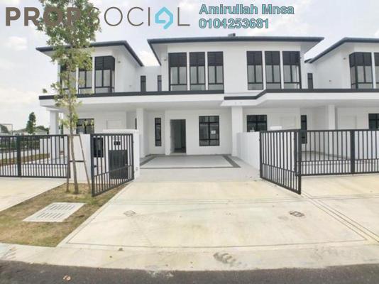 Terrace For Sale in Jalan Ambang Suria, Bandar Puncak Alam Freehold Unfurnished 4R/3B 580k