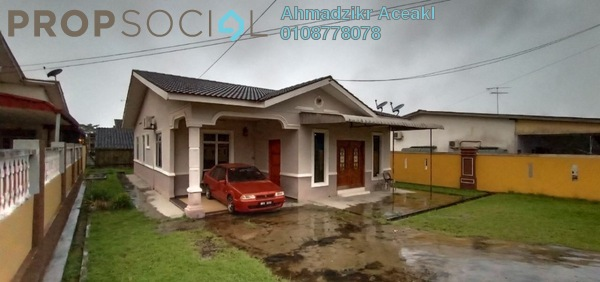 For Sale Bungalow at Taman Broleh, Batu Pahat Freehold Fully Furnished 3R/2B 470k
