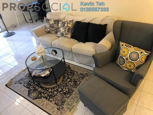 For Sale Condominium at Laman Suria, Mont Kiara Freehold Fully Furnished 2R/2B 630k