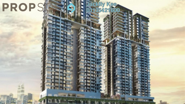 For Sale Condominium at The Address, Taman Desa Freehold Unfurnished 4R/4B 1.15m