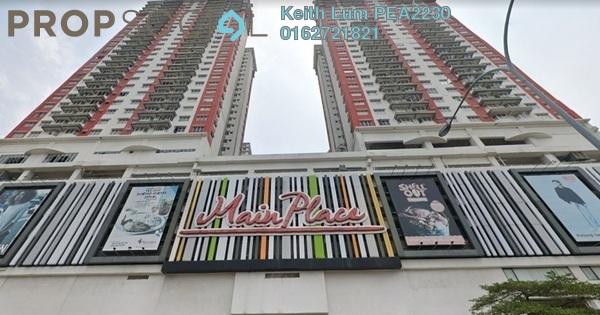 Condominium For Sale in Main Place Residence, UEP Subang Jaya Freehold Fully Furnished 2R/1B 318k
