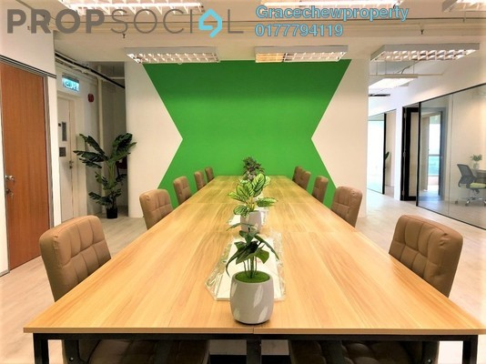 Office For Rent in Teega, Puteri Harbour Freehold Fully Furnished 0R/0B 10k
