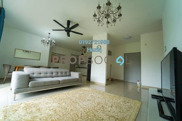 For Sale Condominium at Dwiputra Residences, Putrajaya Freehold Fully Furnished 4R/3B 568k