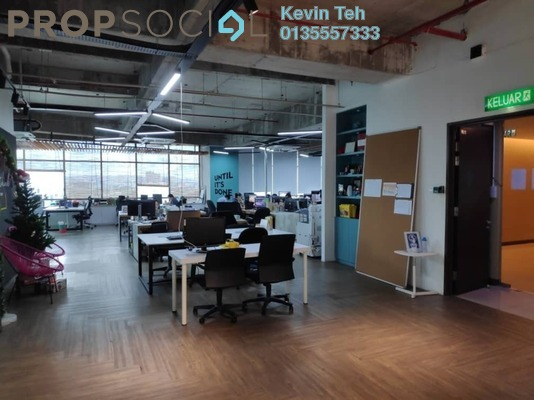 Office For Rent in The Vertical, Bangsar South Freehold Semi Furnished 0R/0B 20k