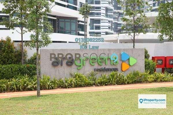 For Sale Condominium at AraGreens Residences, Ara Damansara Freehold Semi Furnished 2R/1B 610k