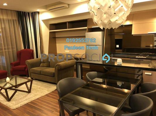 For Rent Condominium at VERVE Suites, Mont Kiara Freehold Fully Furnished 2R/2B 3.65k