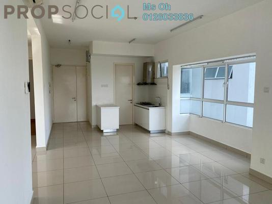 For Rent Condominium at Duet Residence, Bandar Kinrara Freehold Semi Furnished 2R/2B 1.4k