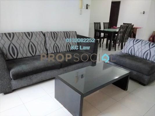 For Rent Serviced Residence at Casa Tiara, Subang Jaya Freehold Fully Furnished 3R/2B 2k