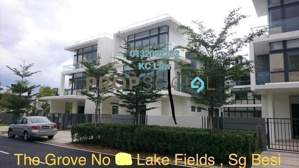 For Sale Semi-Detached at Lake Fields, Sungai Besi Freehold Semi Furnished 4R/5B 2.48m