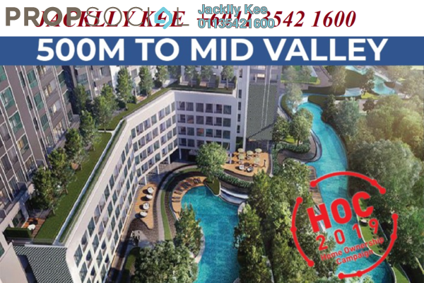 For Sale Condominium at Tria Residences @ 9 Seputeh, Old Klang Road Freehold Fully Furnished 2R/2B 652k