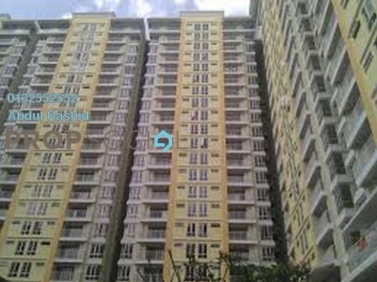 For Rent Condominium at Platinum Lake PV15, Setapak Freehold Semi Furnished 4R/2B 1.7k