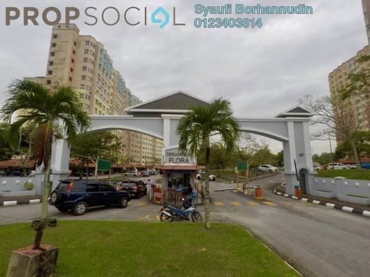 For Sale Apartment at Desaminium Flora, Bandar Putra Permai Freehold Unfurnished 3R/2B 260k