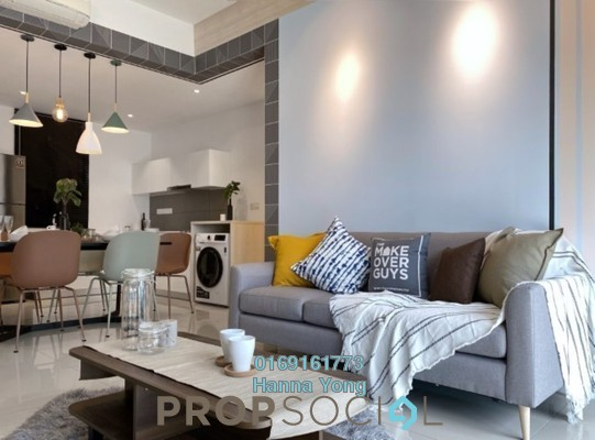 For Rent Serviced Residence at Novum, Bangsar South Freehold Fully Furnished 3R/2B 3.7k