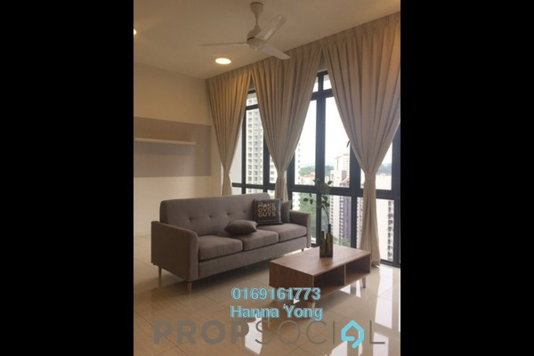 For Rent Condominium at Inwood Residences, Pantai Freehold Fully Furnished 2R/2B 4k