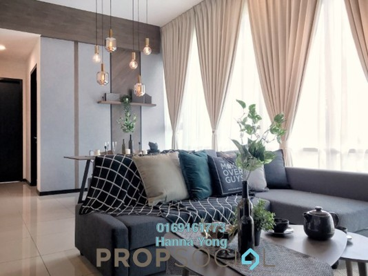 For Rent Serviced Residence at OPUS @ KL, Kuala Lumpur Freehold Fully Furnished 2R/2B 3.8k